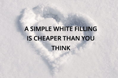 We offer Simple white fillings